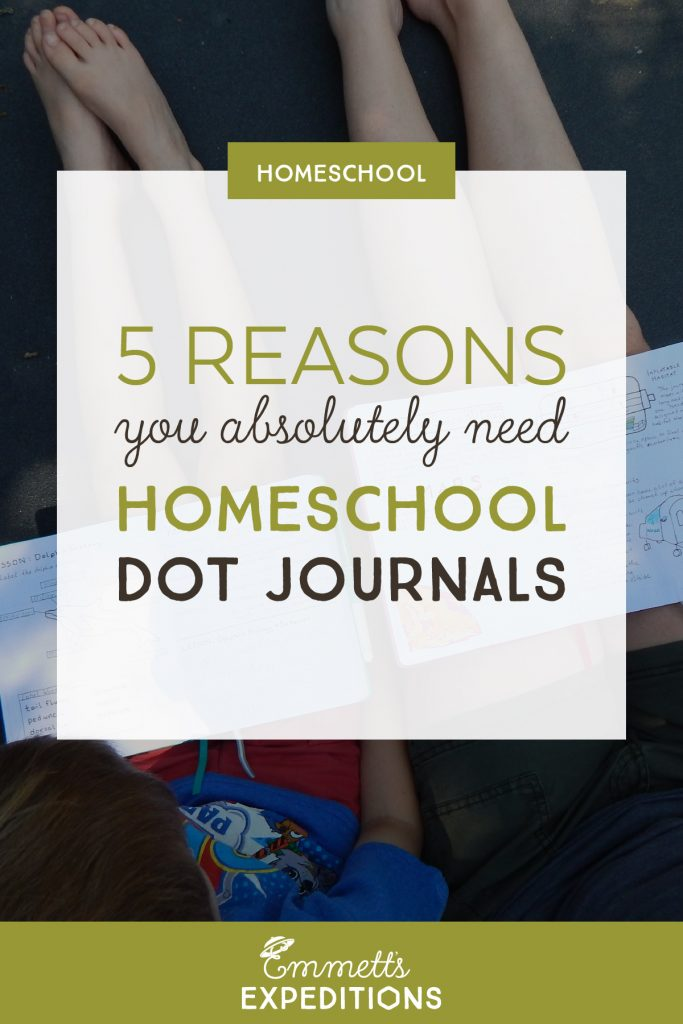 5 reasons you absolutely need homeschool dot journals
