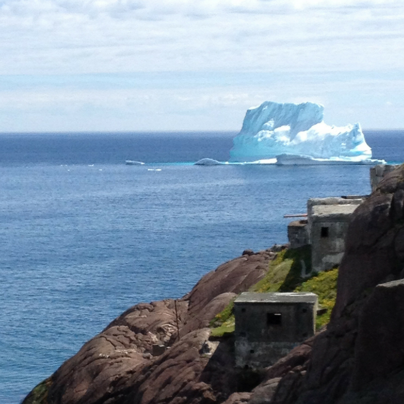 Icebergs in Newfoundland and Labrador. Photography by Alison Butler