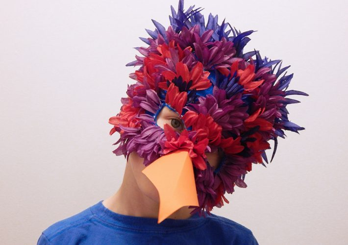 DIY Parrot Mask Feature
