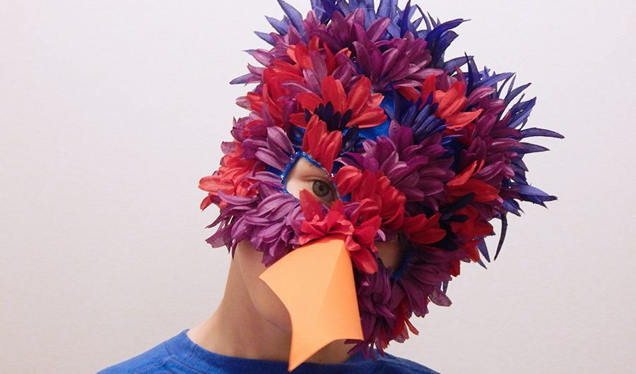 DIY Parrot Mask Feature